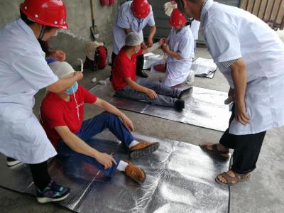 蓉厨食品厂开展消防安全应急演练